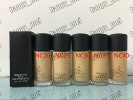 Wholesale Factory Direct DHL New Makeup Super Quality A30 Studio Fix Foundation Liquid ml