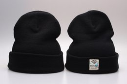 black Diamond Supply Co Beanie Hat Skullies Winter Knit Cap Beanies Basketball Hats Free Shipping YP