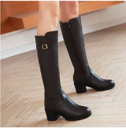 Free Shipping new style women boot high heel long boot rider boot stretch velvet with high 6cm black gray high knee