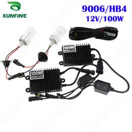 12V 100W Xenon Headlight 9006   HB4 HID Conversion xenon Kit Car HID light with AC ballast For Vehicle Headlight KF-K2002-9006