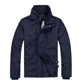 Top sale Men's windbreaker Jackets Navy Black waterproof fleece down hoodie outdoor men Outerwear Coats Men's winter Trenchcoat