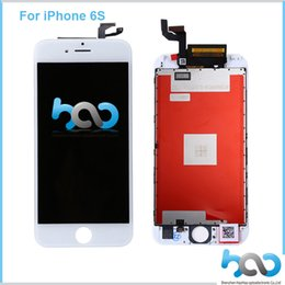 for iPhone 6S LCD Display with Touch Screen Digitizer Full Assembly Replacement Digitizer for iPhone 6S 4.7 inche White DHL Free Shipping