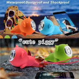 Cute Piggy Bluetooth Speaker Portable Bluetooth Speaker Waterproof Bluetooth Speaker Mini