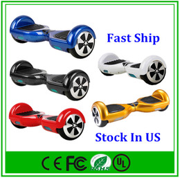Ship From US Hoverboard Self Balancing Scooter Scooters With Smart Balance Wheel 6.5 Inch LED Light Electric Scooters Mini Smart Skateboard