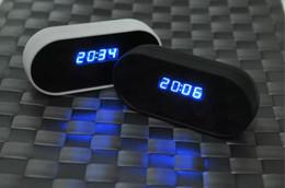 Promotion ip ios came Full HD 1080P WIFI Horloge caméra sans fil horloge cachée caméra IP Spy Cam DVR Enregistreur vidéo pour IOS Android BlackWhite dans Retail Box