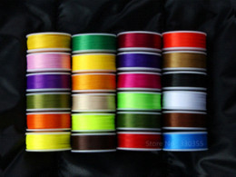 Wholesale Fly tying thread denier colors Yd spools lures materials material handling product news lure spin