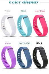2016 DHL Fast Ship Silicone Replacement Rubber Band with Clasp for Fitbit Flex Bracelet Wrist Strap High Quality 13 Colors