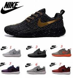 Wholesale 2016 new Nike Roshe Run Shoes Fashion Men s Women s Roshe Running London Olympic Walking Sporting Shoes Sneakers
