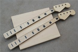 Wholesale A piece of DIY semi finished Jazz bass model electric bei SiFeng xylophone neck black Can install button