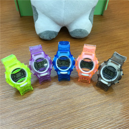 Casual Watches New fashion Jelly Watch Daliry life waterproof outside sport cartoon watches boys girl's Children's Digital Watches