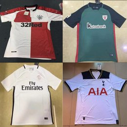 Wholesale Mixed Thailand Quality Glasgow Rangers Bilbao PSG Jersey Shirt League Jersey Home The finest quality home jersey rugby
