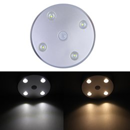 Wholesale Newest Wardrobe Armoire Wireless Motion Detector PIR Sensor LED Night Light Lamp