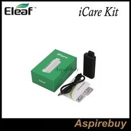 Wholesale Eleaf iCare Kit All in One Kit Compact Starter Kit with Internal Tank Airflow System with New IC ohm Head Tiny Cute Looking Authentic