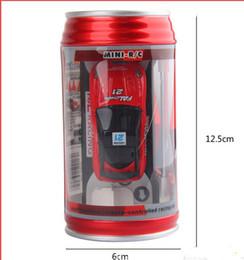 Wholesale color Mini Racer Remote Control Car Coke Can Mini RC Radio Remote Control Micro Racing Car children toy Gift