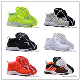 2016 New Running Shoes Men Women High Quality Presto Sneakers Cheap Jogging Shoes For Sale High Cut Sports Shoes Size US 5.5-11