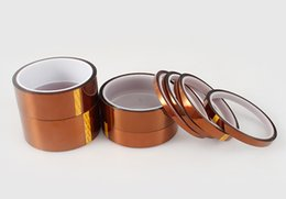 Wholesale 1 Mil Kapton kinds size High Heat Temperature Resistant Kapton Polyimide GBA Gold Tape