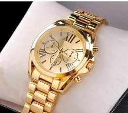 Wholesale 2016 New luxury MICHAEL fashion Michael Stainless Steel Men s Watch with opp bag packaging kmm