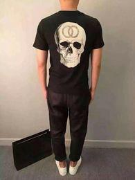 Wholesale 2016 New Unisex Hot COCO Skull T Shirt BBC T Shirts Men Hip Hop Cotton tshirt O Neck Man Tops Shirt