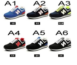 Wholesale Unisex men s Balance Sport Shoes Sneakers Running Shoes n Couple Shoes Men Sneakers running shoes size eur