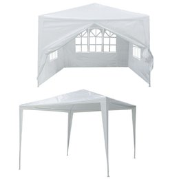 Wholesale Canopy Heavy duty x10 Outdoor Party Nylon Patio Tent Gazebo Pavilion Cater Event Straight Bracing Type