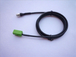 Female 3.5MM Audio Aux Cable Adapter For Renault Clio 2005-2011 Models + Car Cable Stick Tape