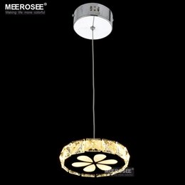 Wholesale LED Small Crystal Chandelier Lights Mini Crystal Chandelier Lamp Cristal Pendants LED Light Holder Lusters Light Fixtures for home decoratio