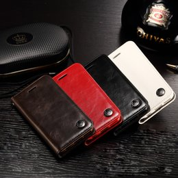 Wholesale Luxury Phone Cases For Iphone s s plus s Samsung Galaxy S7 S7 Edge Original Brand Genuine Leather Magnet Auto Flip Wallet Case Cover