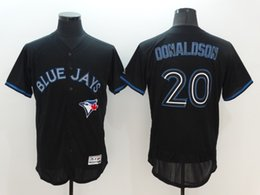 Wholesale Josh Donaldson Black White Gray Blue Green Toronto Blue Jays CoolBase Baseball Jerseys With th Patch Best Quality from China