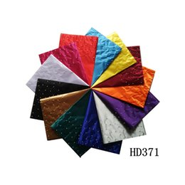 Wholesale Fancy Print Plain Sego Headtie for Wedding Plaid Fashion Polyester Multi Color Bandanas with Beads for Party