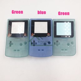 Wholesale Luminous Shell Housing Case for Gameboy Color High Quality Creative Night Lighted Shell Cover Case for GBP