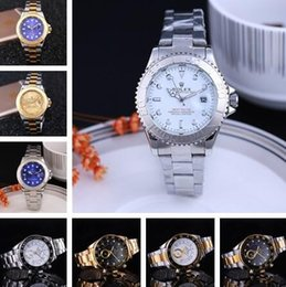 Wholesale 2016 New Automatic Date Men role Women x Brand Watch Fashion Luxury Brand ss Strap Relogio Sport Quartz Clock Men role x watch