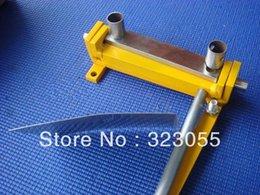 Wholesale Sheet Metal Iron Aluminum Copper Plate Bending Machine Tool Manual Mini Household Equipment MM