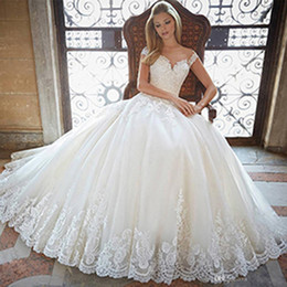 2016 new gauze strapless A-line trailing Wedding Dresses sexy backless lace applique Church officially Wedding Dress Beautiful Bride Wedding