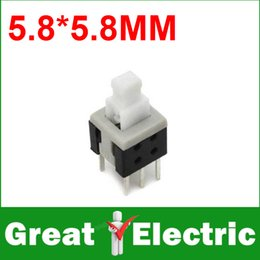 Wholesale Pin mm Micro Switch Switches Press On Off Self Lock YXSMDZ2425