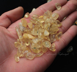 Wholesale 50g Natural Citrine Yellow Quartz Crystal Stone Rock Polished Gravel Specimen F181 natural stones
