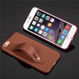 Cubierta de lujo de la caja del teléfono celular de la piel de imitación para el iPhone 7 iPhone7 para el iPhone 6 6s 4.7 iPhone6 iPhone6s más la cubierta de la protección de la parte posterior desde teléfonos celulares casos de cuero fabricantes