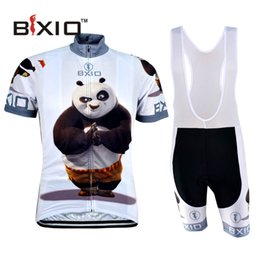 Wholesale BXIO Brand Cycling Clothing Short Sleeve Zipper Fat Bear Skinsuit Cheap Bicycle Jersey Maillot De Ciclismo BX XM081