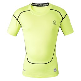 Wholesale Chemises manches courtes à compression manches longues