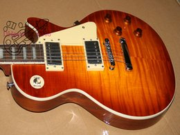 Wholesale guitar Guitar Factory Newest Custom Electric Guitar Flame top guitars from China