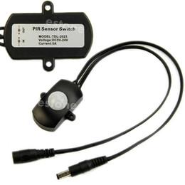 Wholesale J34 LED Strip Automatic MINI DC5 V PIR Infrared Motion Sensor Detector Switch A