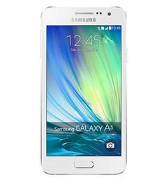 Original Samsung Galaxy A3 A3000 A300F MSM8916 Quad Core 8GB 16GB 8MP 4.5 inch 4G LTE Refurbished Unlocked Mobile Phone