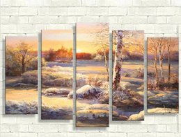 Wholesale 5 piece canvas art beer asian knife diy S painting mediterranean style papel de parede reproduction oil paintings