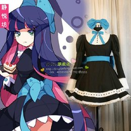 Wholesale-Panty & Stocking with Garterbel Stocking Cosplay Costume Long Sleeve Lolita Maid Costumes