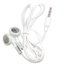 Wholesale Earbud Headphone Earphone For Cell Phone MP3 MP4 for all iPods iPhones and all MP3 players