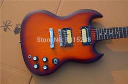 free shipping new guitarra SG guitar shop oem electric guitar yellow color guitarra guitar in china