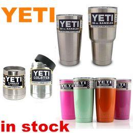 Wholesale 30oz yeti stainless steel tumbler oz oz oz Mugs Clear Lid Rambler Cups Yeti Cup coffee Mugs Large Capacity Steel Mug