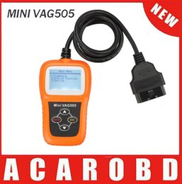 Wholesale Hot Sale New Arrival Memoscan MINI VAG505 for VW for Audi Scan Tool vag Code Reader Scanner Tool vag505 with high quality