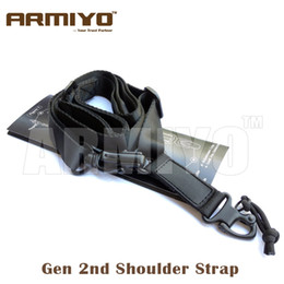 Armiyo 2nd Gen Tactical Shoulder Strap Airsoft Multi Mission Rifles Carry Hunting Gun Sling Shooting Accessories