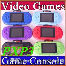 Wholesale Hot selling16 Bit Video Game Player PXP3 PXP Slim Station Pocket Game Game Card Retail Box A YXJ