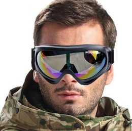 UV Protection Sports Ski Snowboard Skate Goggles Glasses Motorcycle Off-Road Ski Goggle Glasses Eyewear Colorful Lens Free Shipping